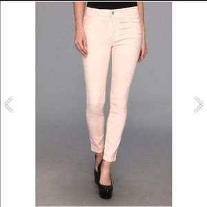 Joe's Jeans The High Water blush coated jeans 27